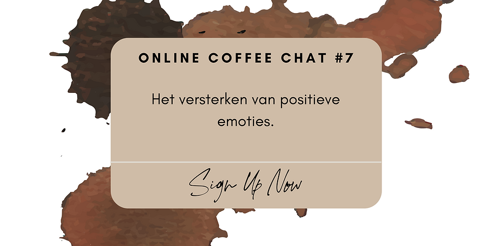 Online Coffee Chat #7