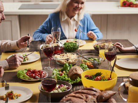 The Benefits of Sunday Suppers Across 3 Generations