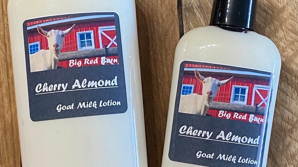 Cherry Almond Goat Milk Lotions