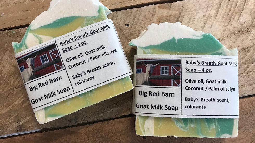 Baby's Breath Goat Milk Soap