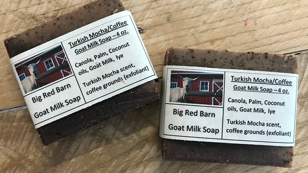 Turkish Mocha Goat Milk Soap
