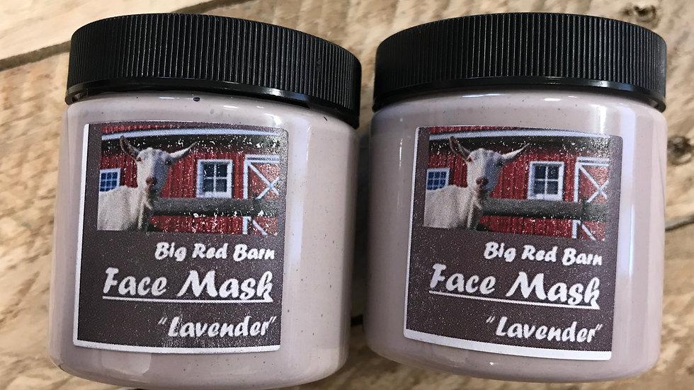 Face Mask - Lavender Essential Oil