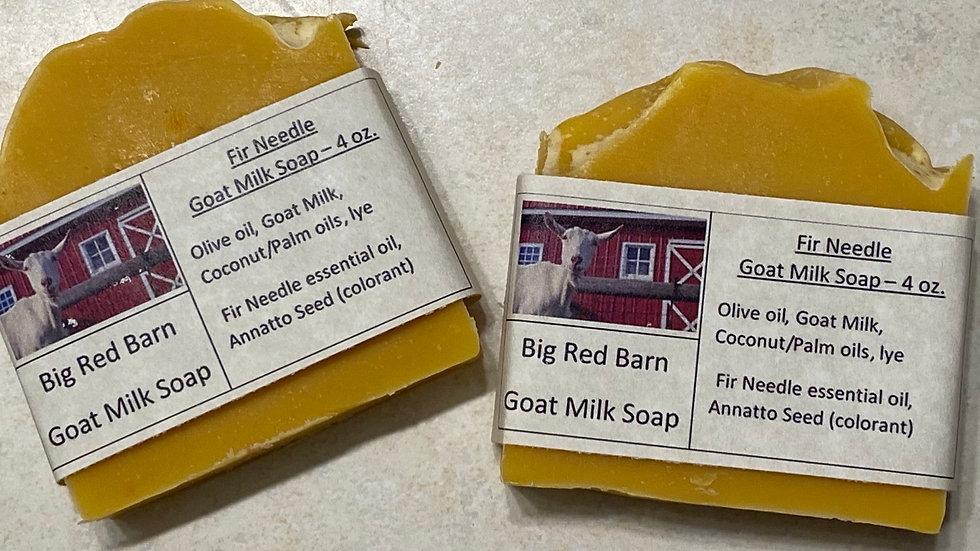 Fir Needle Goat Milk Soap