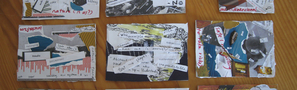 alternative communication, collages stag