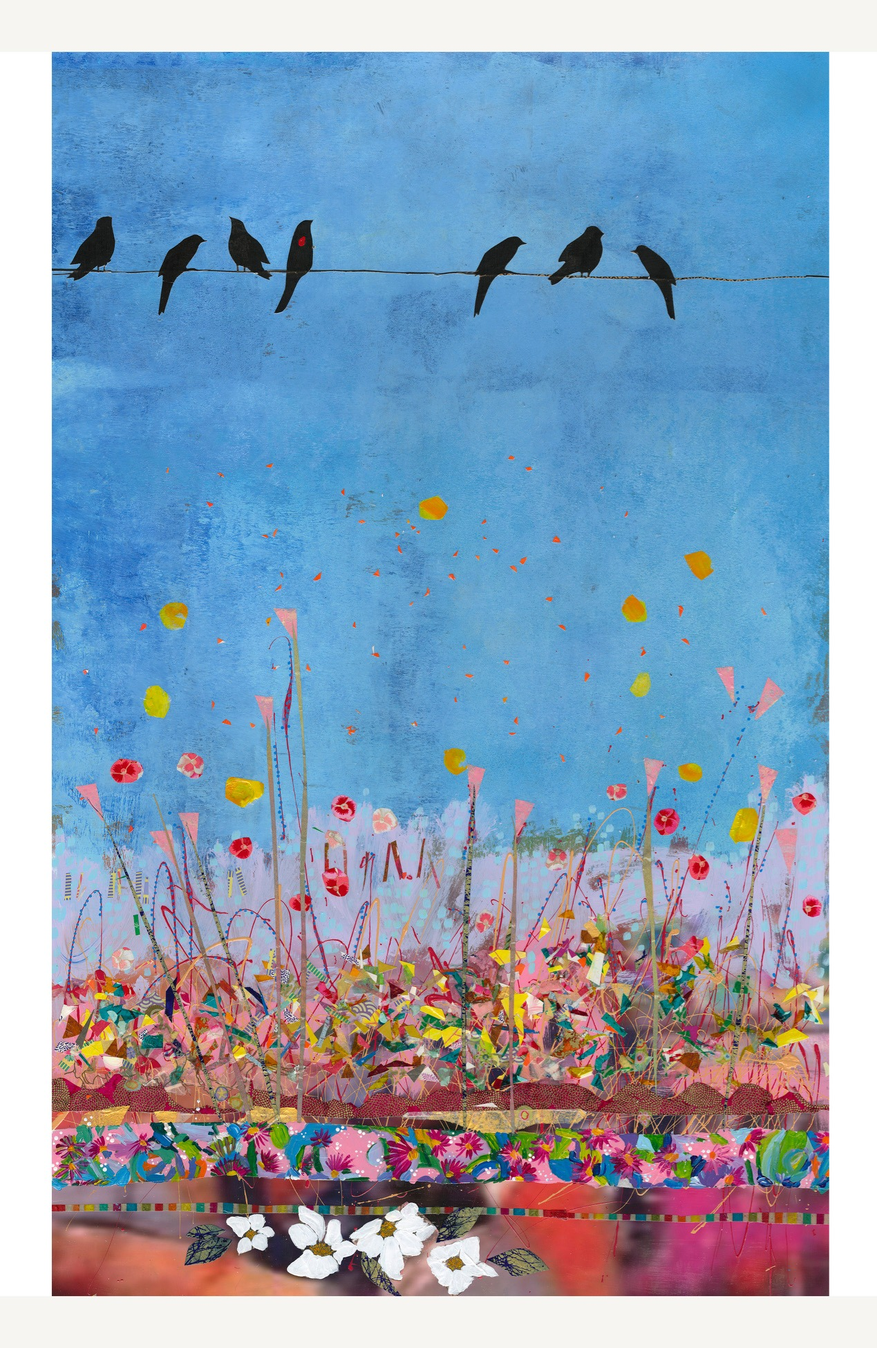 Birds on a Wire I