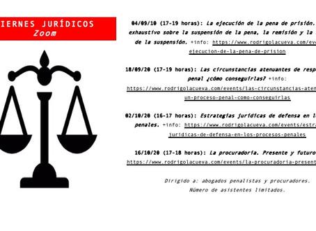 Viernes Jurídicos