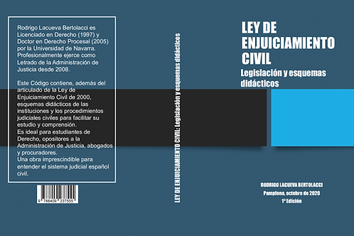 LEY DE ENJUICIAMIENTO CIVIL Y ESQUEMAS DIDÁCTICOS