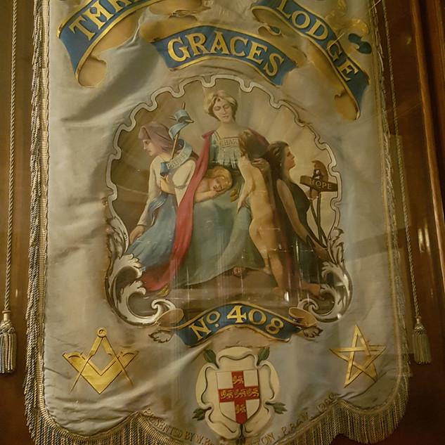 three graces banner 408 haworth