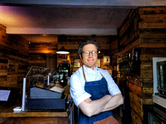 Head Chef Nick Sharp Hunters of Haworth