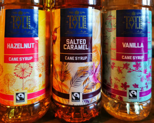 fairtrade syrups
