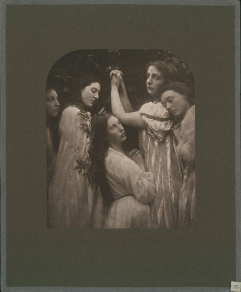 Photograph by Julia Margaret Cameron, August 1874, courtesy of the Harry Ransom Center, University of Texas at Austin