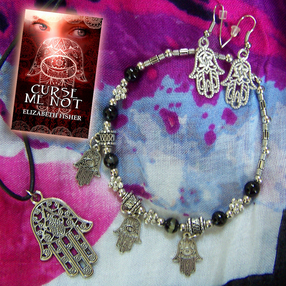 Khamsa Jewelry w book.jpg