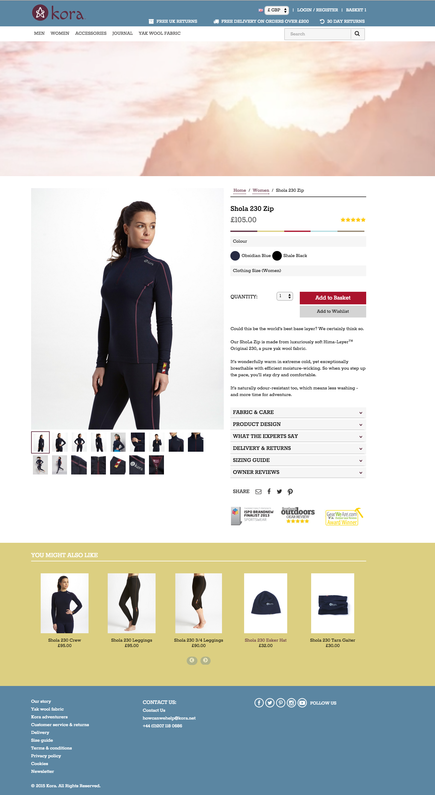 kora Ecommerce Website Design