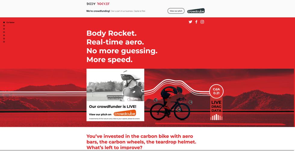 Body Rocket website