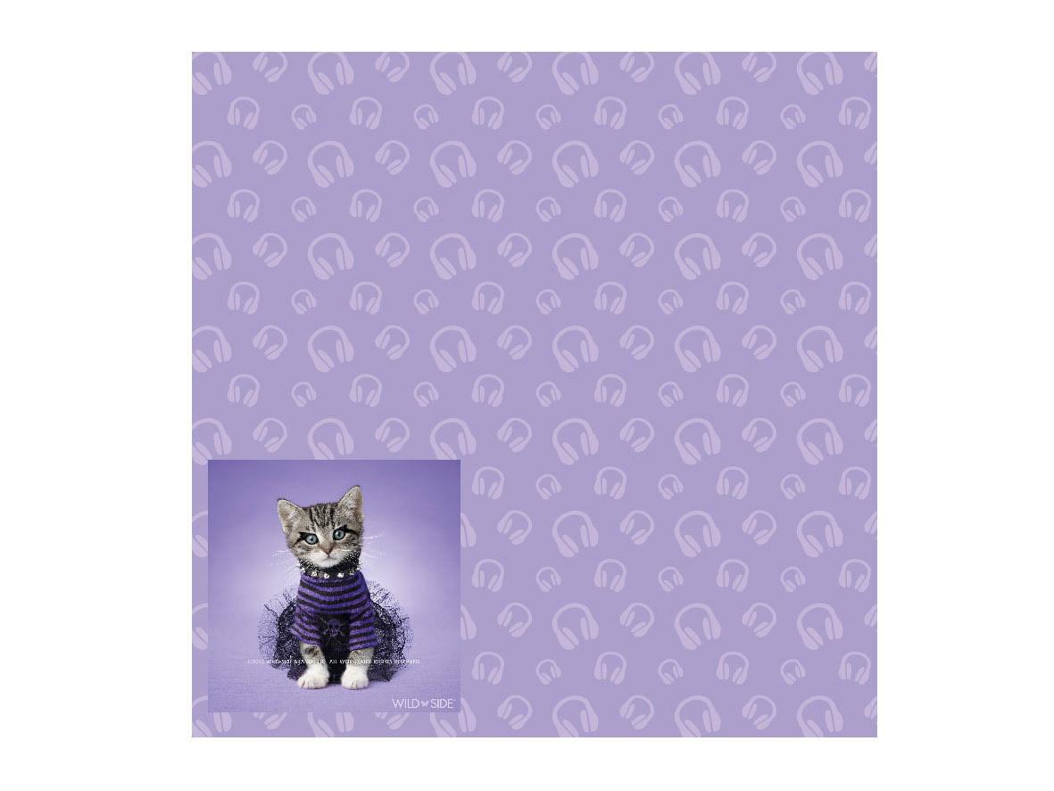 Wild Side pattern cat diva
