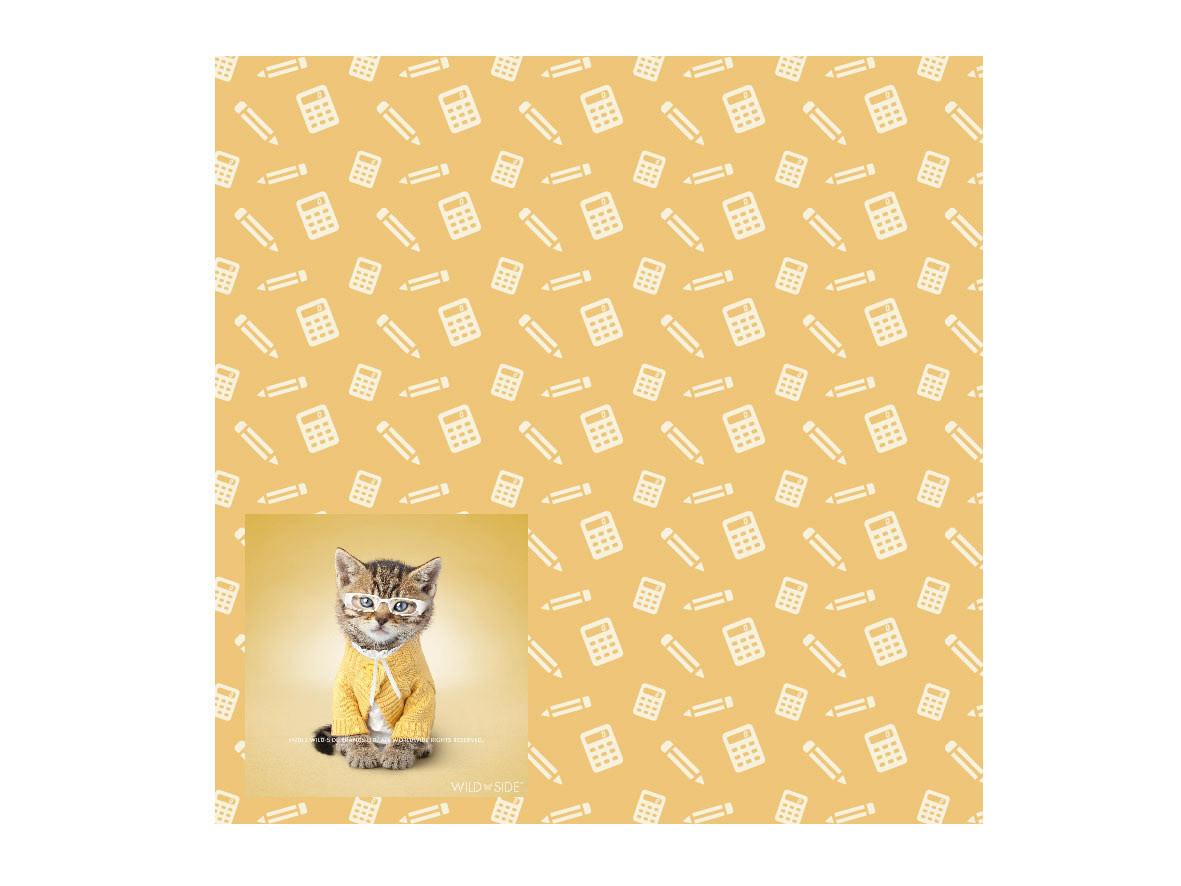 Wild Side pattern cat