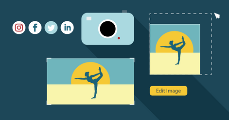 How to use images on social media