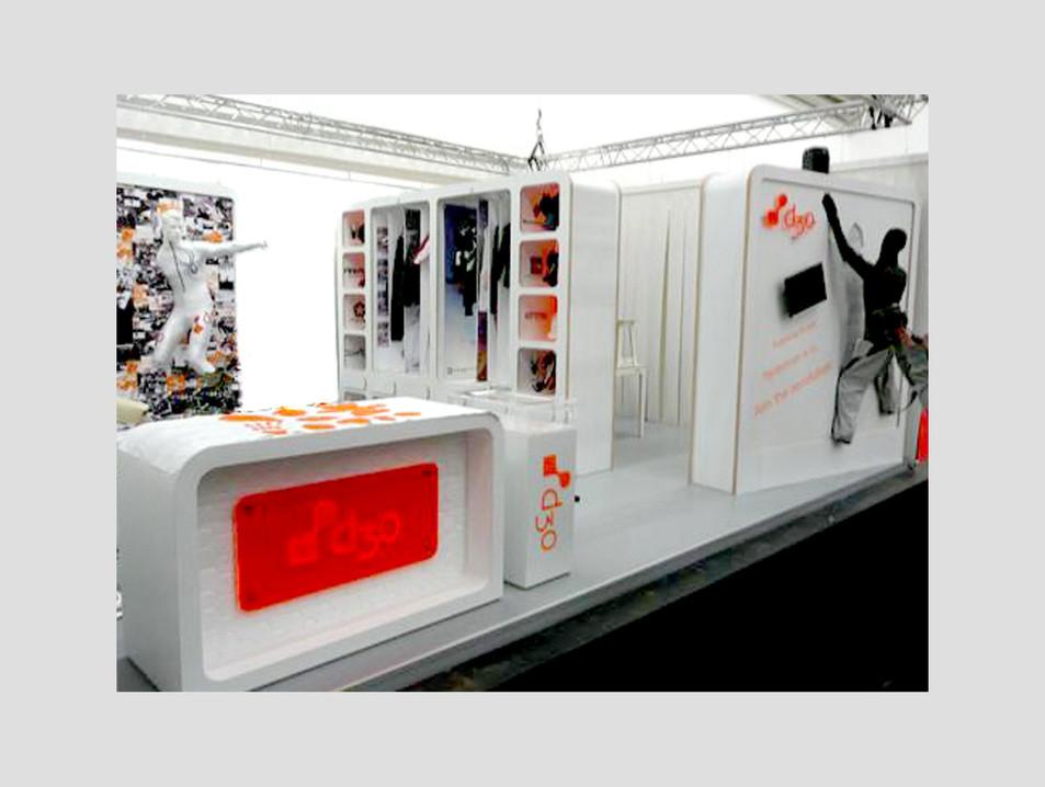 d3o trade show design