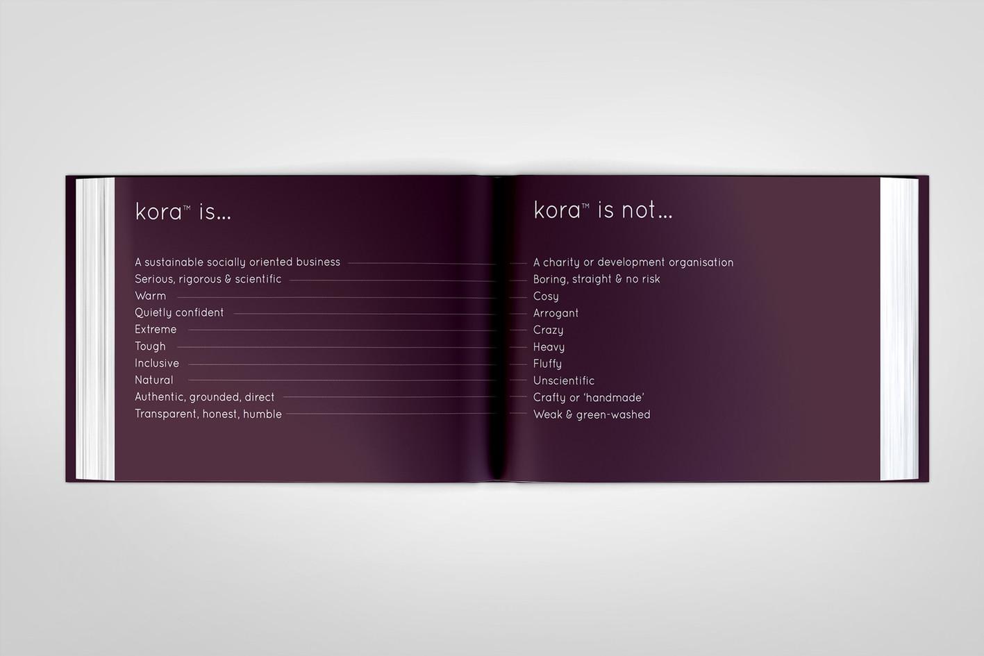 kora brand book