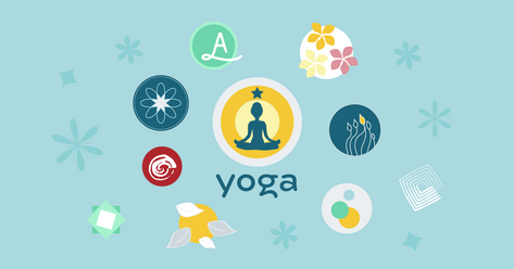 How to create a yoga logo