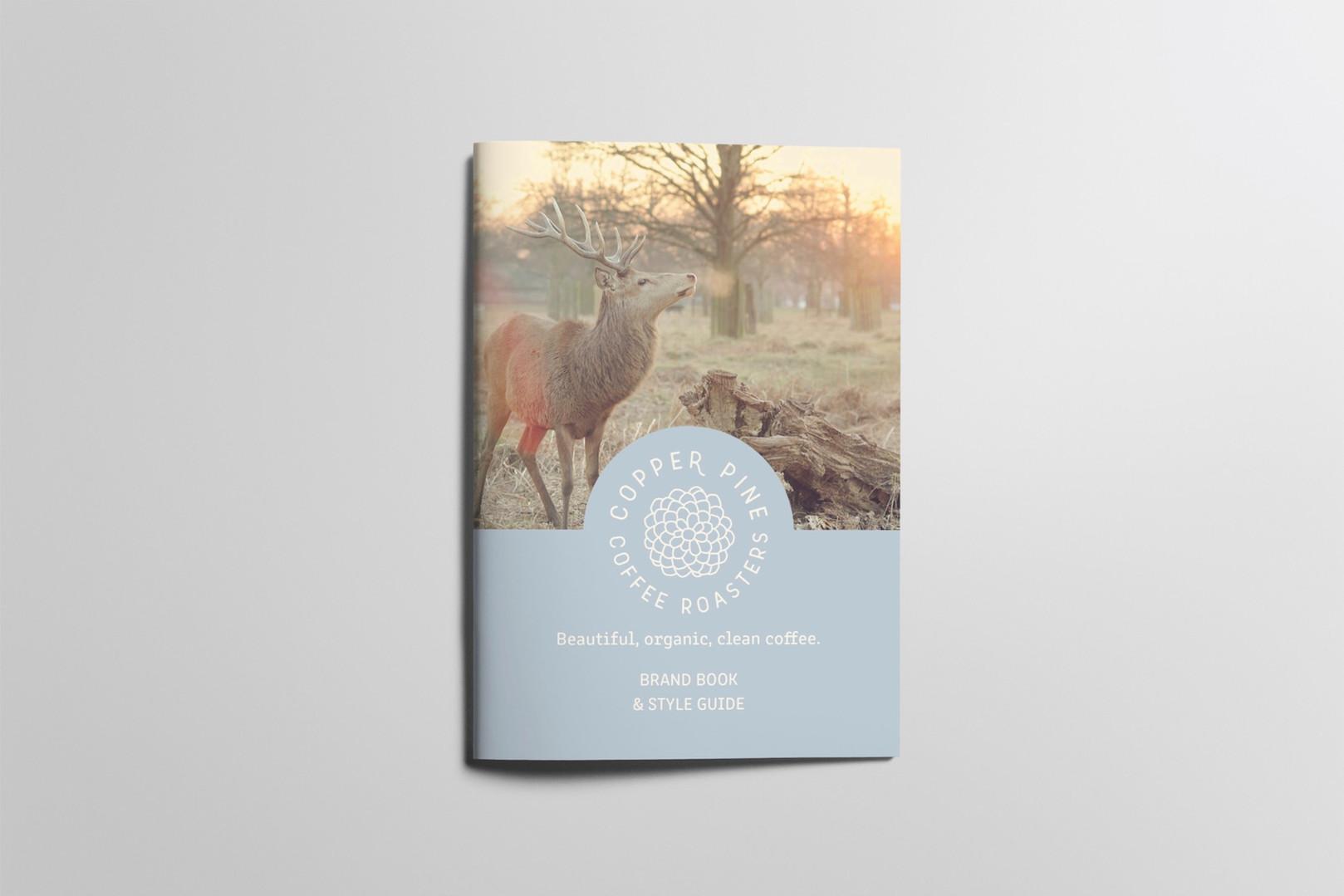 Copper Pine Coffee brand book