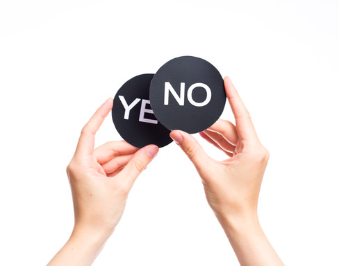 "3 Reasons to Say ""No"" Instead of ""Yes"""