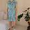 Thumbnail: 80s Vintage Slip Rainbow Dress - (EU44)