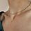 Thumbnail: Vintage 80s Pierre Cardin Belcher Chain Necklace