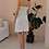 Thumbnail: Vintage Slip Linen Dress in White (EU36)