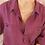 Thumbnail: 90s Vintage Silk Shirt in Magenta Purple - (EU50-52)