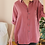 Thumbnail: 90s Vintage Silk Shirt in Rouge Pink