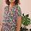 Thumbnail: French Vintage Floral Day Dress - (EU40-42)