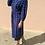 Thumbnail: Vintage Midi Slip Dress in Blue