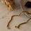 Thumbnail: 80s Vintage Coreana Chain Necklace