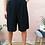 Thumbnail: Vintage Cotton Culottes Pants in Black