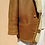 Thumbnail: Vintage Leather Shearling Jacket Coat in Brown