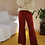 Thumbnail: Vintage 70s High Waisted Flared Pants in Brown, W29/L31