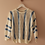Thumbnail: 90s Vintage Cut Out Sweater in White - (EU42)