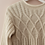 Thumbnail: Vintage Sweater in White with Crew neck