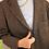 Thumbnail: Vintage Oversized Wool Blazer in Brown
