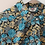 Thumbnail: 90s Vintage Floral Blouse in Blue (EU44)