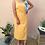 Thumbnail: Vintage Long Slip Dress in Yellow