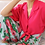 Thumbnail: 90s Vintage  High Waisted Floral Culottes - (EU40)