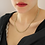 Thumbnail: 80s Vintage Flat Rope Necklace