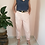 Thumbnail: Vintage Tapered Cotton Pants in Pastel Pink