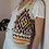 Thumbnail: Preloved  Wool Vest in Aztec Print
