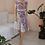 Thumbnail: Vintage Summer Floral Dress in White - (EU36-38)