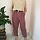Thumbnail: Vintage High Waisted Tapered Pants in Dried Rose