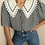 Thumbnail: Vintage Sailor Blouse with Embroidered Collar