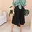 Thumbnail: 90s Vintage Culottes Shorts in Black ( EU 42)